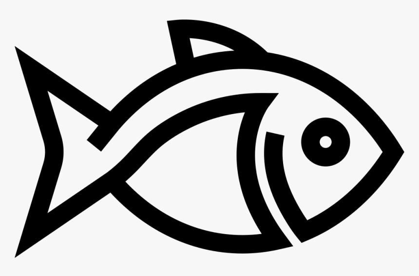 Fish Outline - Fish Outline Png, Transparent Png, Free Download