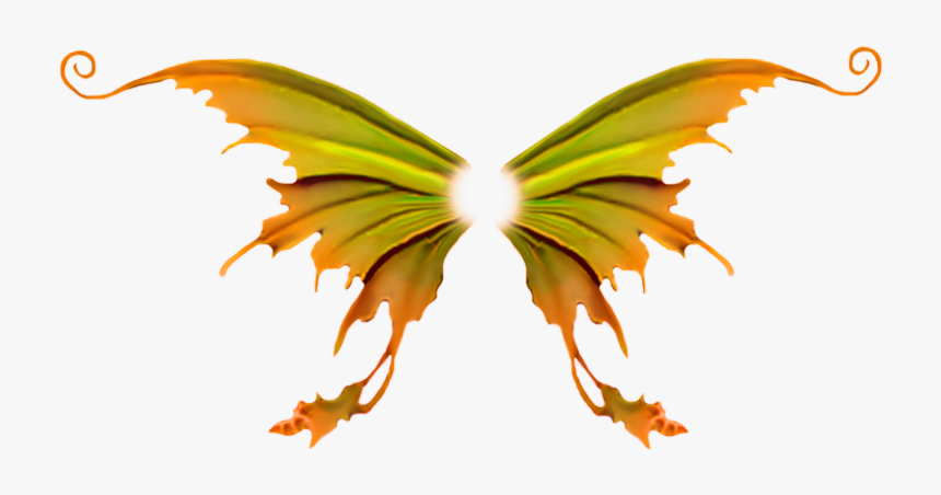 #wings #phoenix #butterfly #dark #flame #style #wing - Fairy Wings, HD Png Download, Free Download