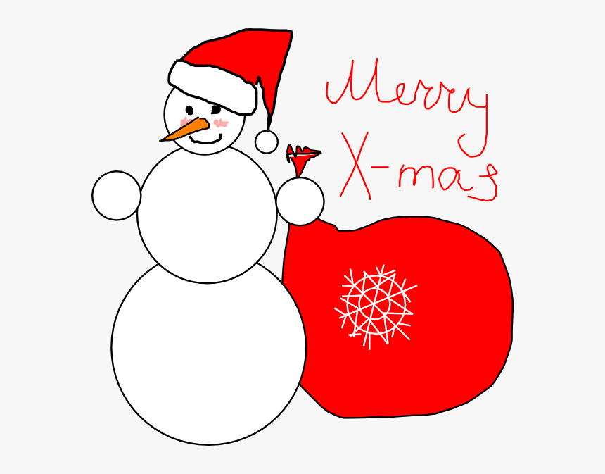 Merry X - - Christmas Card Cover Clipart, HD Png Download, Free Download