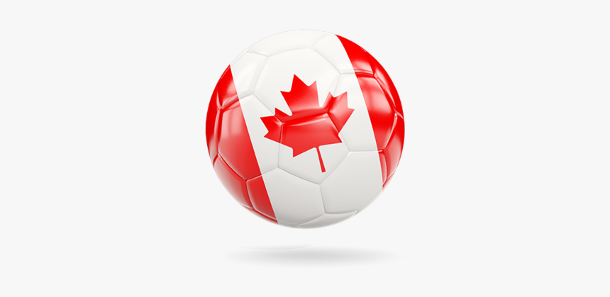 Glossy Soccer Ball - Canada Soccer Ball Png, Transparent Png, Free Download