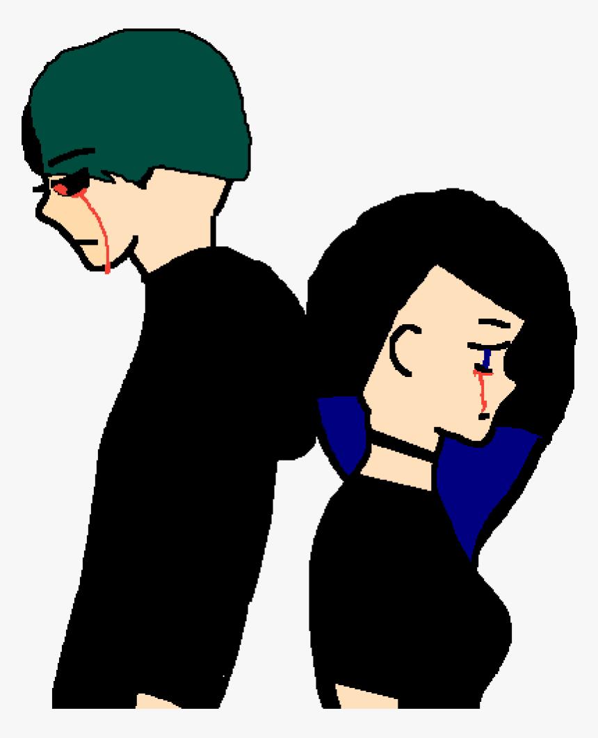 Transparent Sad Person Png - Girl Cartoon Sad Transparent Png, Png Download, Free Download