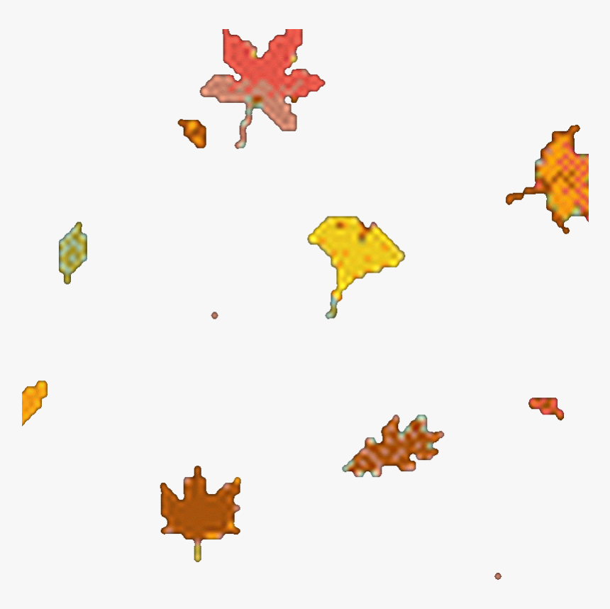 Transparent Fall Leaves Falling Png - Falling Maple Leaves Gif, Png Download, Free Download