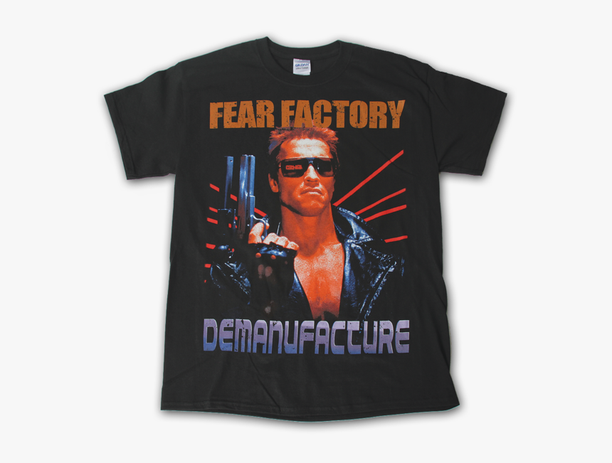 Terminator Tee - Fear Factory Terminator Merch, HD Png Download, Free Download