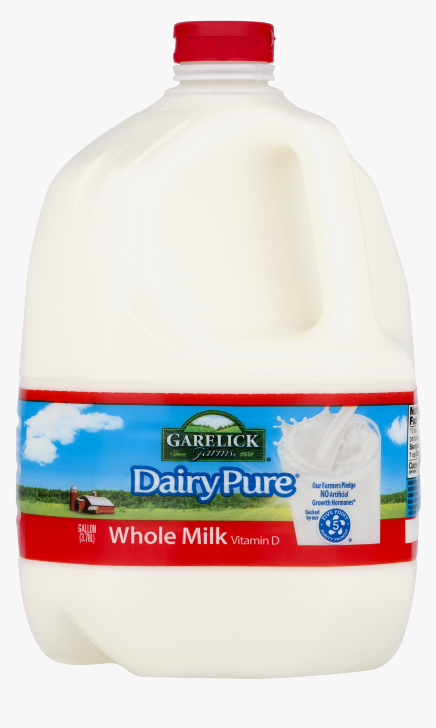 Dairy Pure Whole Milk, 1 Gallon - Plastic Bottle, HD Png Download, Free Download