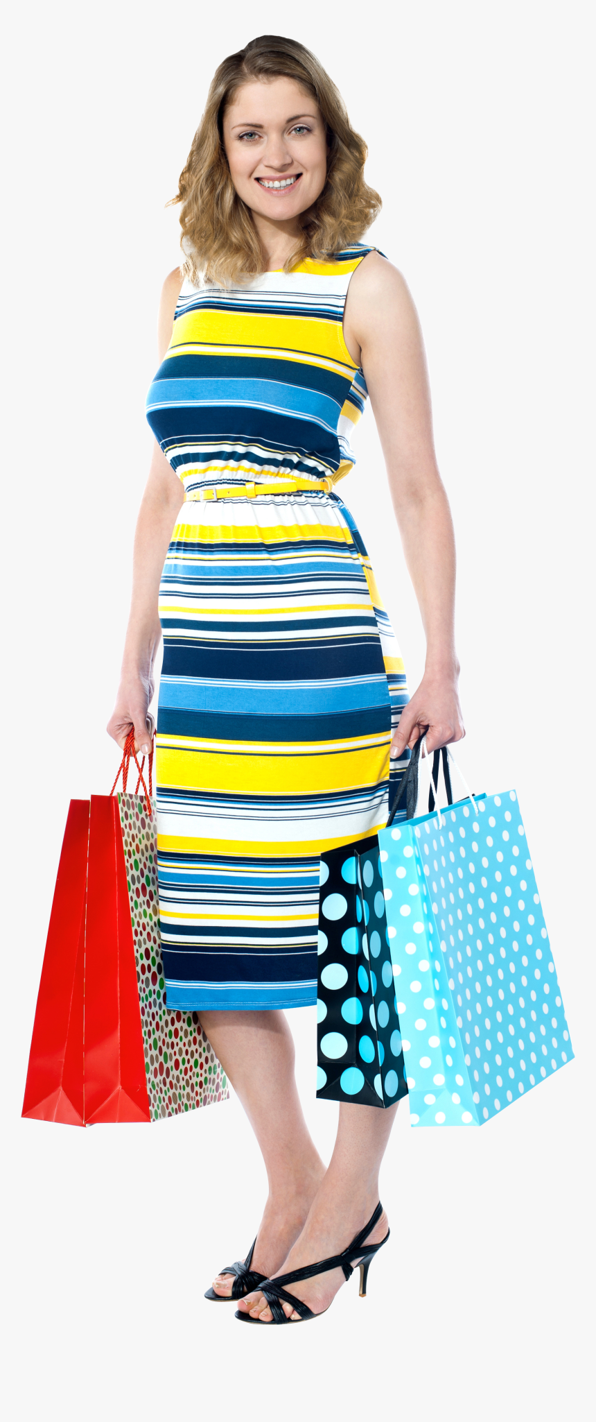 Shopping Women Png, Transparent Png, Free Download