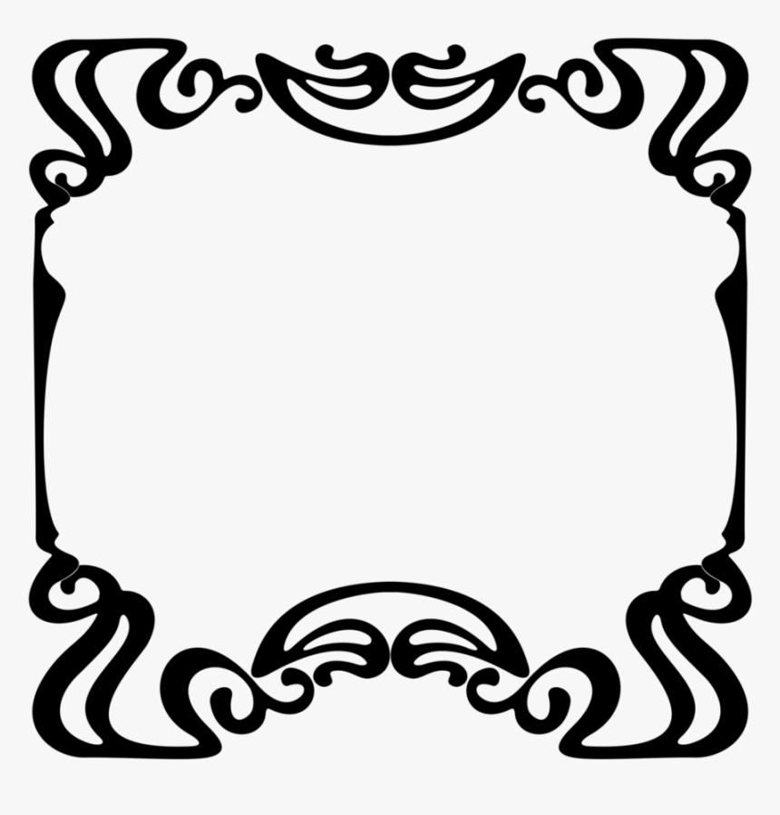 Transparent Free Art Nouveau Clipart Art Nouveau Borders Corners Hd Png Download Kindpng
