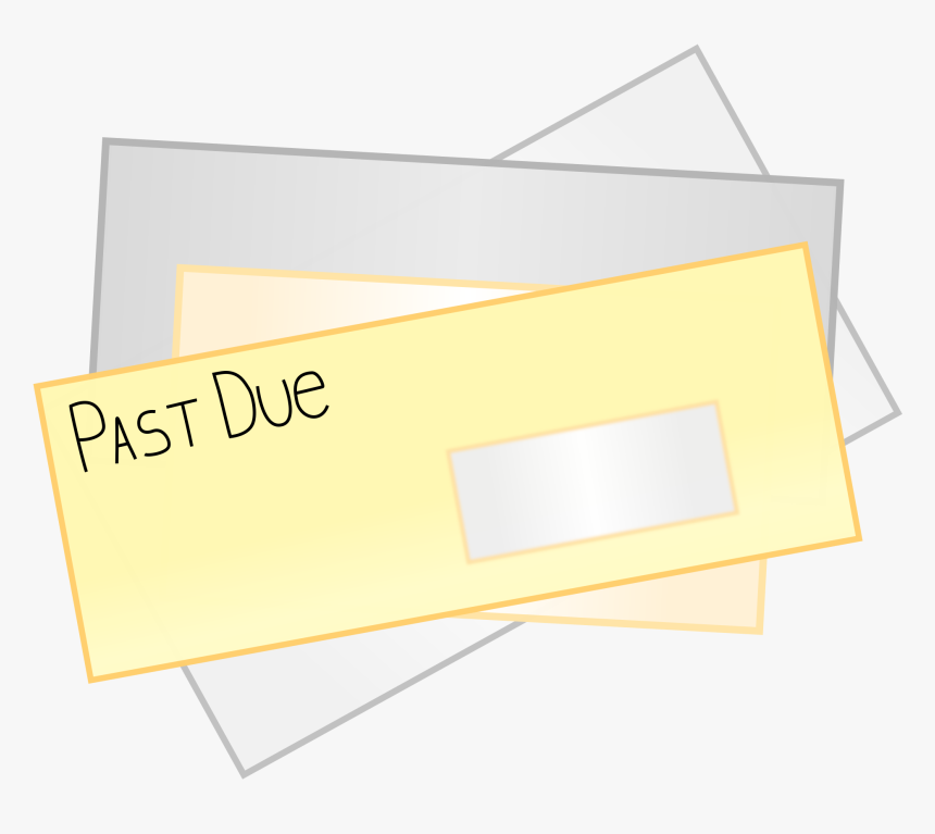 Past Due Bill Png Clipart, Transparent Png, Free Download