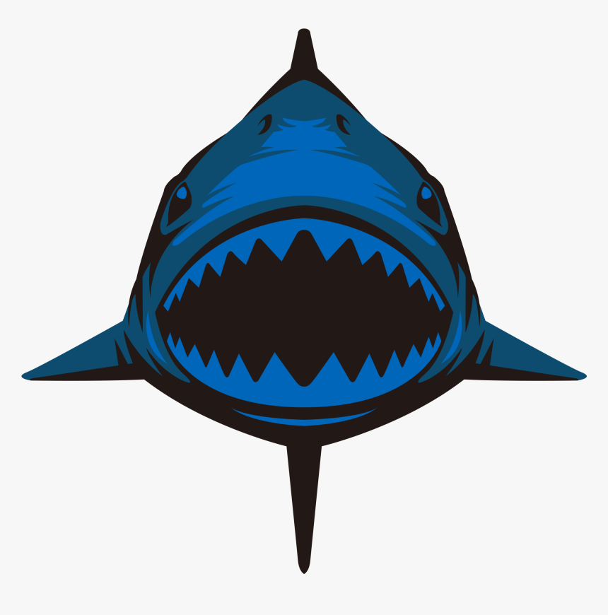 Hammerhead Shark Silhouette Png Clip Art Image - Zyuoh Shark, Transparent Png, Free Download