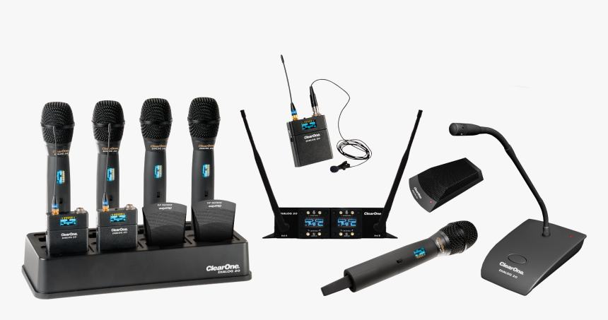 Wireless Microphone Systems - Ws800 Wireless Microphone System Clearone, HD Png Download, Free Download