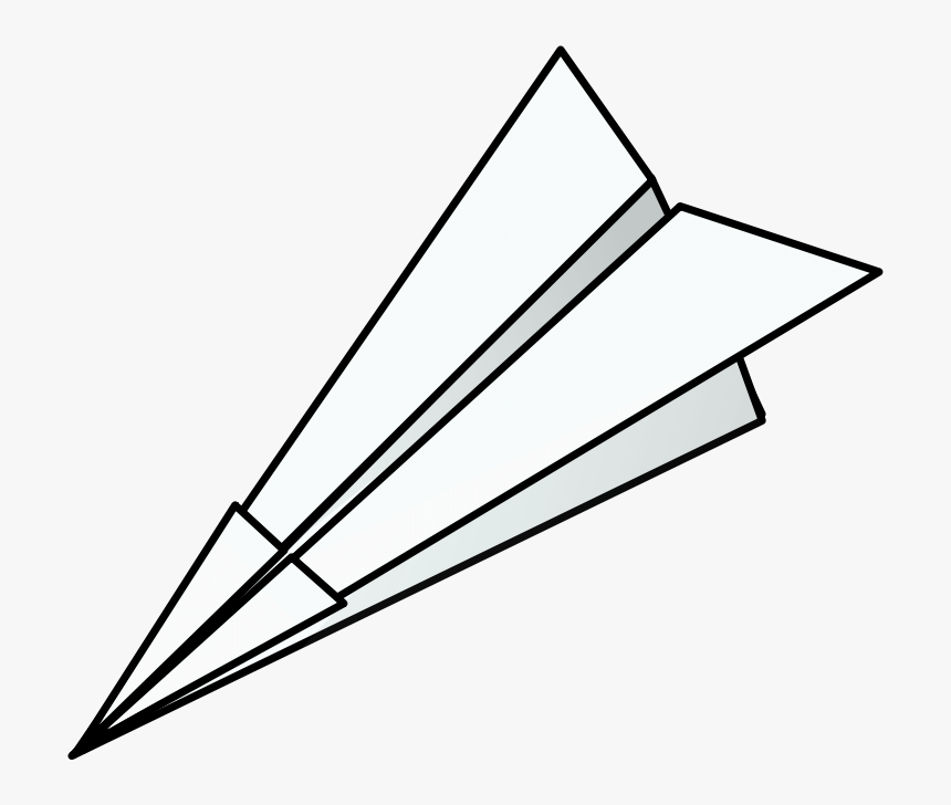 Paper Airplane Race Clipart Paper Airplane Transparent