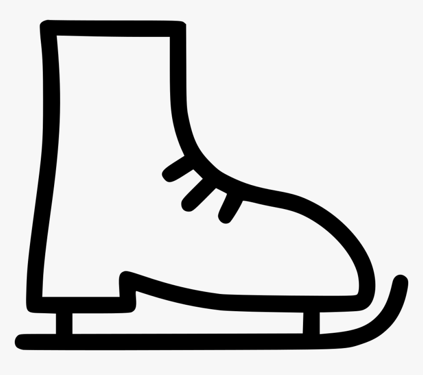 Ice Skate - Ice Skate Icon Svg, HD Png Download, Free Download