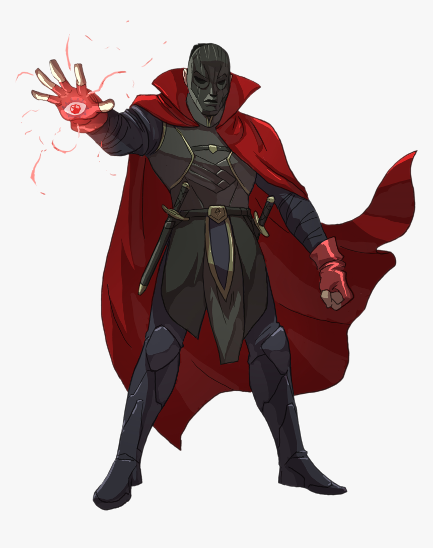 Warlock Dnd Character Art, HD Png Download, Free Download
