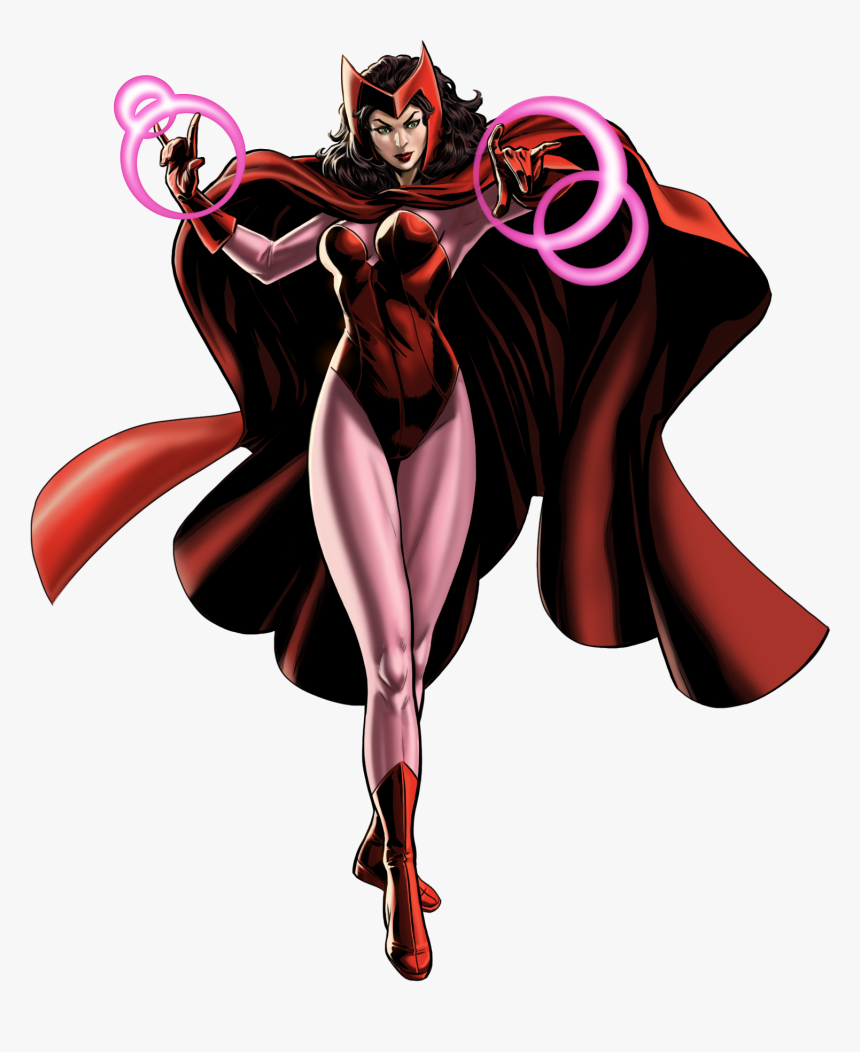 Scarlet Witch Download Png - Scarlet Witch Comic Transparent, Png Download, Free Download