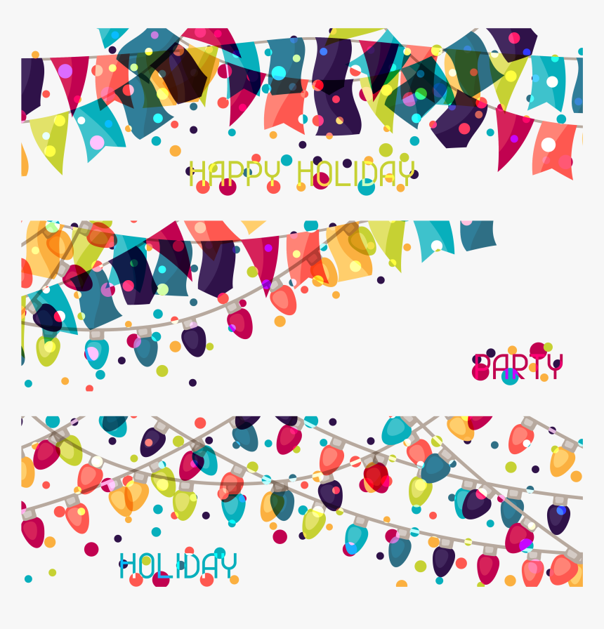 Carnival Clipart Flag Banner - Vector Graphics, HD Png Download, Free Download