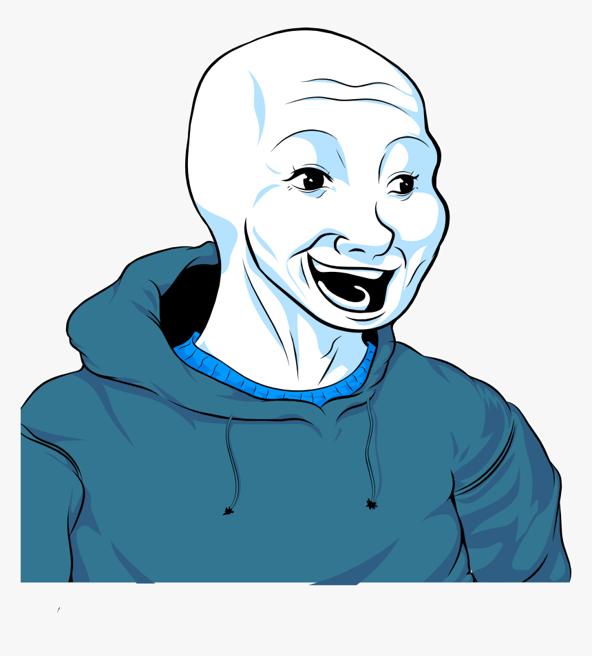 Bloomer Bloomer Wojak Hd Png Download Kindpng