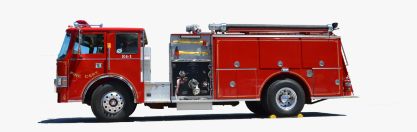 Fire Truck Png Background Image - Coche De Bombero Png, Transparent Png, Free Download