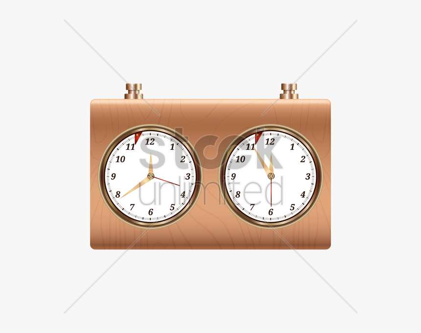 Watch Clipart Short Time - Wall Clock, HD Png Download, Free Download