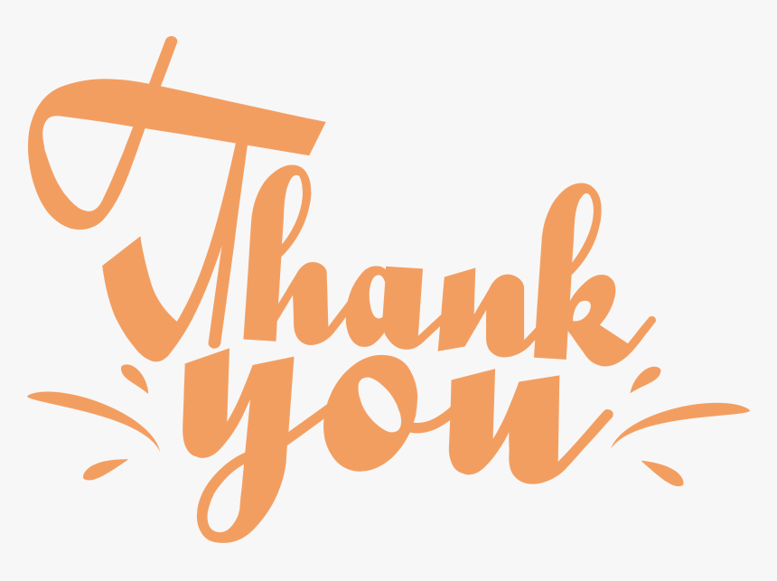 Vector Thank You Thank You Graphic Png Transparent Png Kindpng