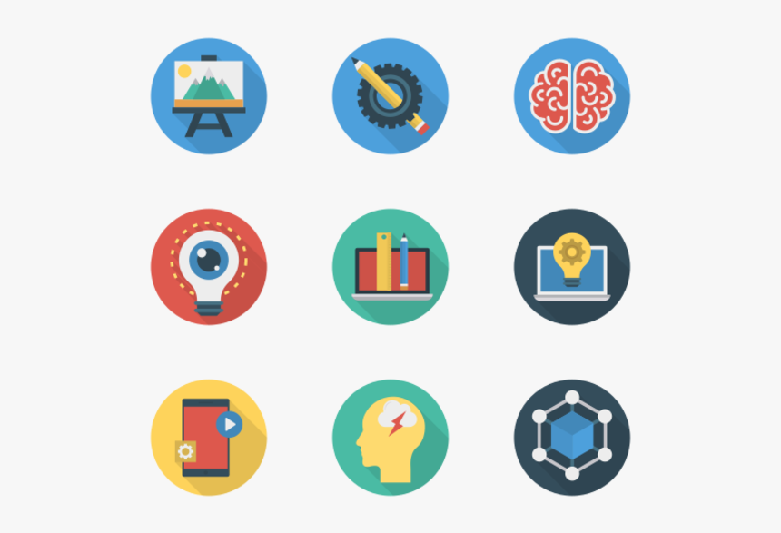 Essential Set - Graphic Design Flat Icon, HD Png Download, Free Download