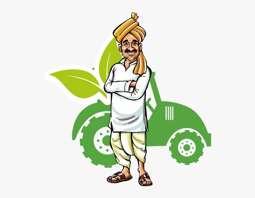 Indian Farmer Png - Indian Farmer Cartoon Png, Transparent Png, Free Download