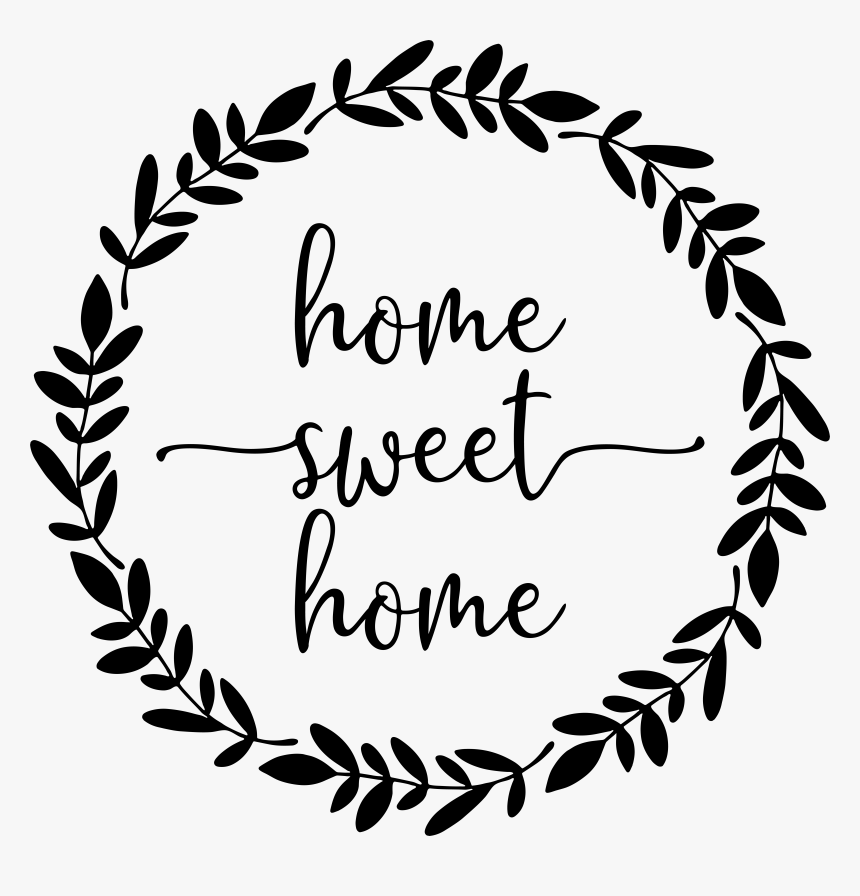 Transparent Home Clipart Png - Home Sweet Home Transparent, Png Download, Free Download