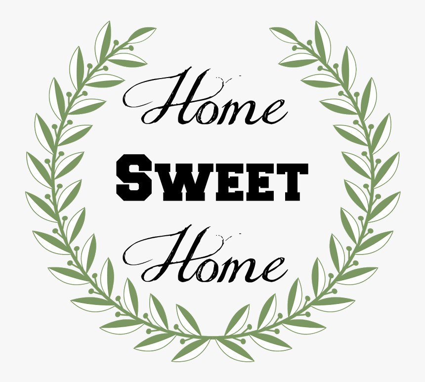 Home Sweet Home Png - Modern Home Sweet Home, Transparent Png, Free Download