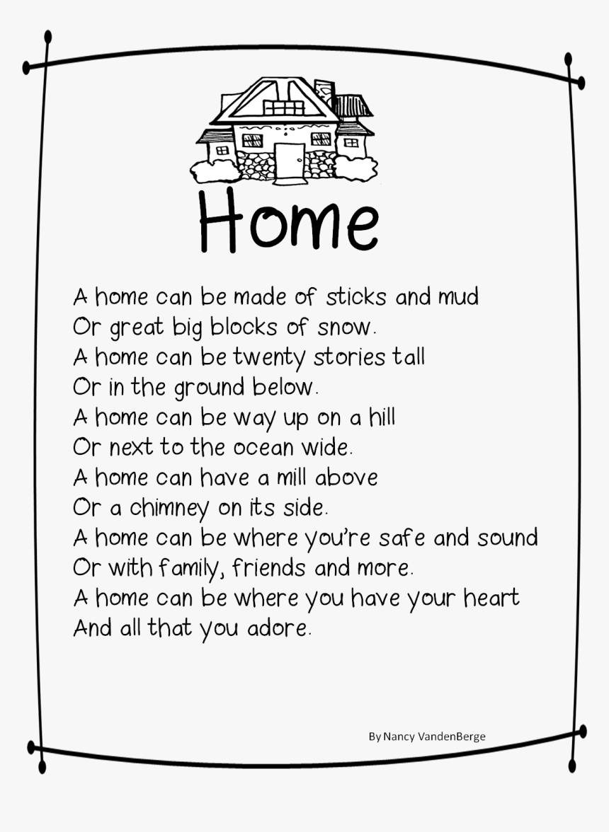 Essay On Home Sweet Home - My Sweet Home Essay, HD Png Download, Free Download