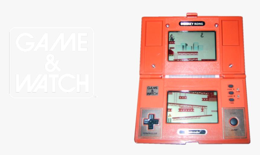 Game & Watch - Original Nintendo Donkey Kong Game, HD Png Download, Free Download