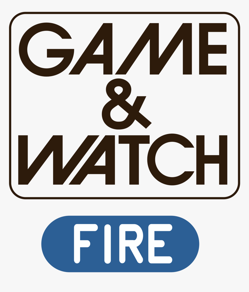 Game And Watch Logo Png, Transparent Png, Free Download