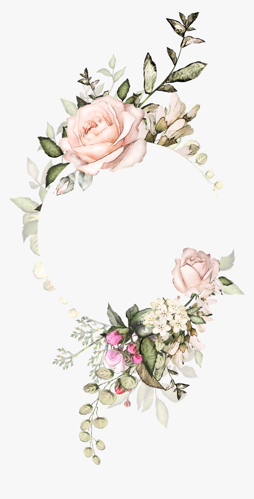 Moldura Floral Flores Tumblr Freetoedit Rose Gold Flower