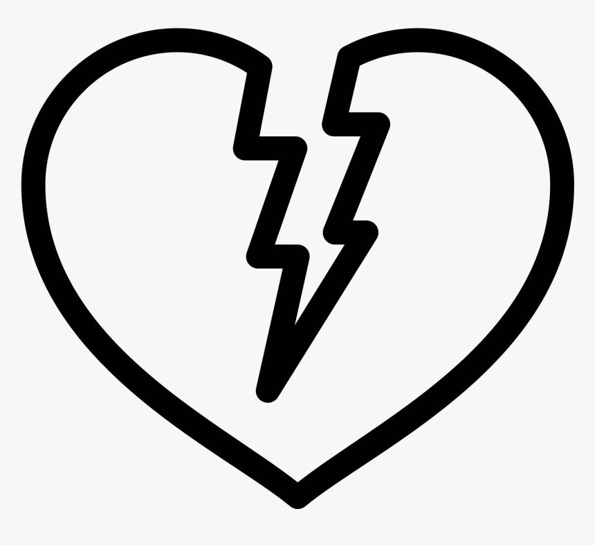 Corazón Roto Icon - Circle, HD Png Download, Free Download