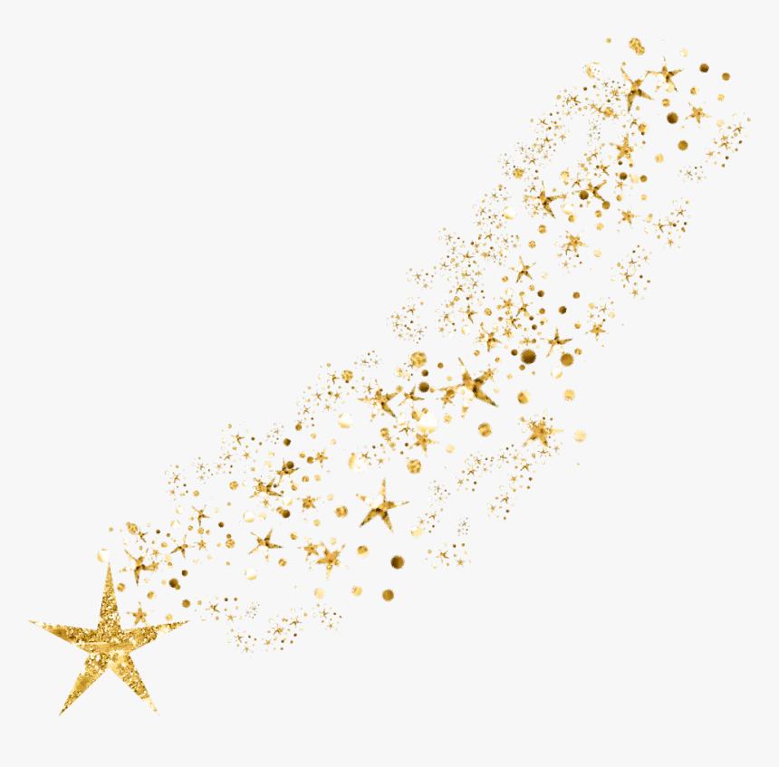 Gold Glitter Png - Gold Glitter Stars Png, Transparent Png, Free Download