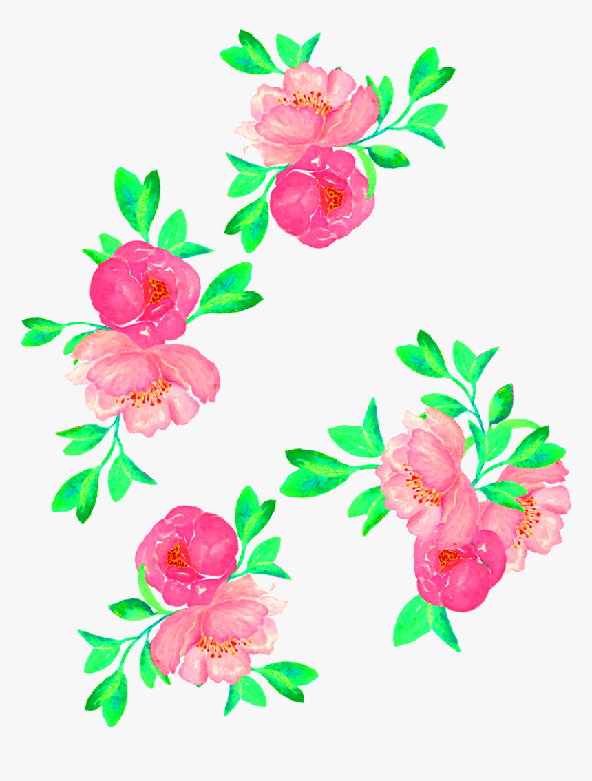 Transparent Flower Print Png - Vector Flower Print Png, Png Download, Free Download
