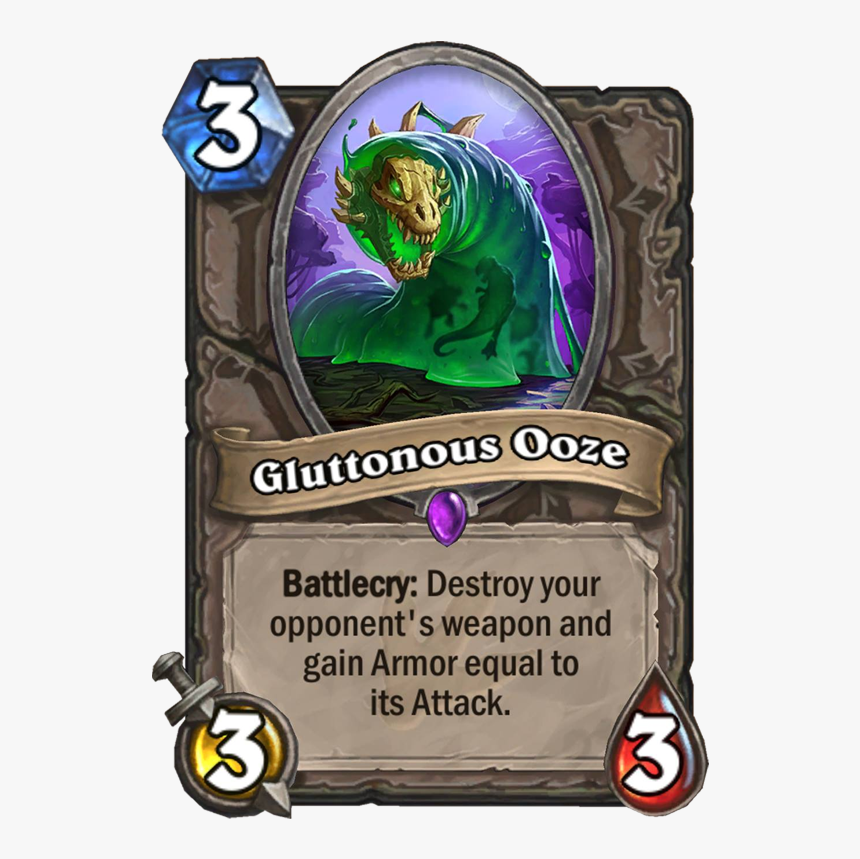 Hearthstone Gluttonous Ooze, HD Png Download, Free Download