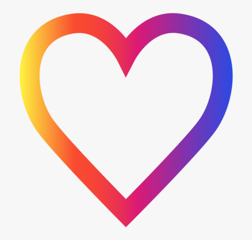 Instagram Heart Icon Transparent, HD Png Download, Free Download