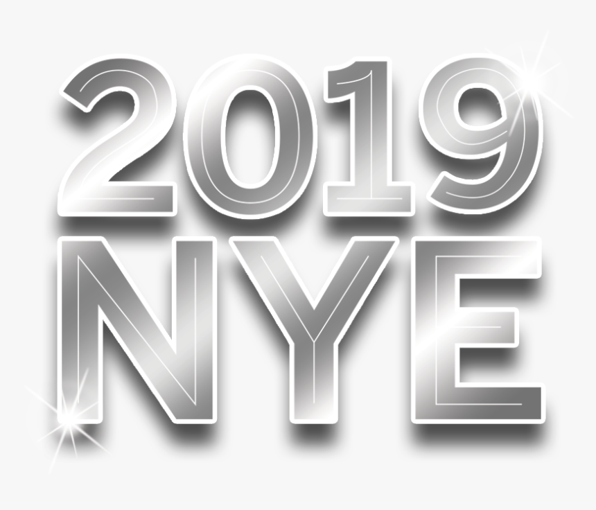 Transparent New Years Eve Png - New Year's Eve 2019 Logo, Png Download, Free Download