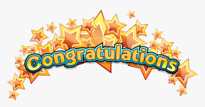 Congratulations All Stars Clipart Transparent Png - Congratulations To All The Winners, Png Download, Free Download