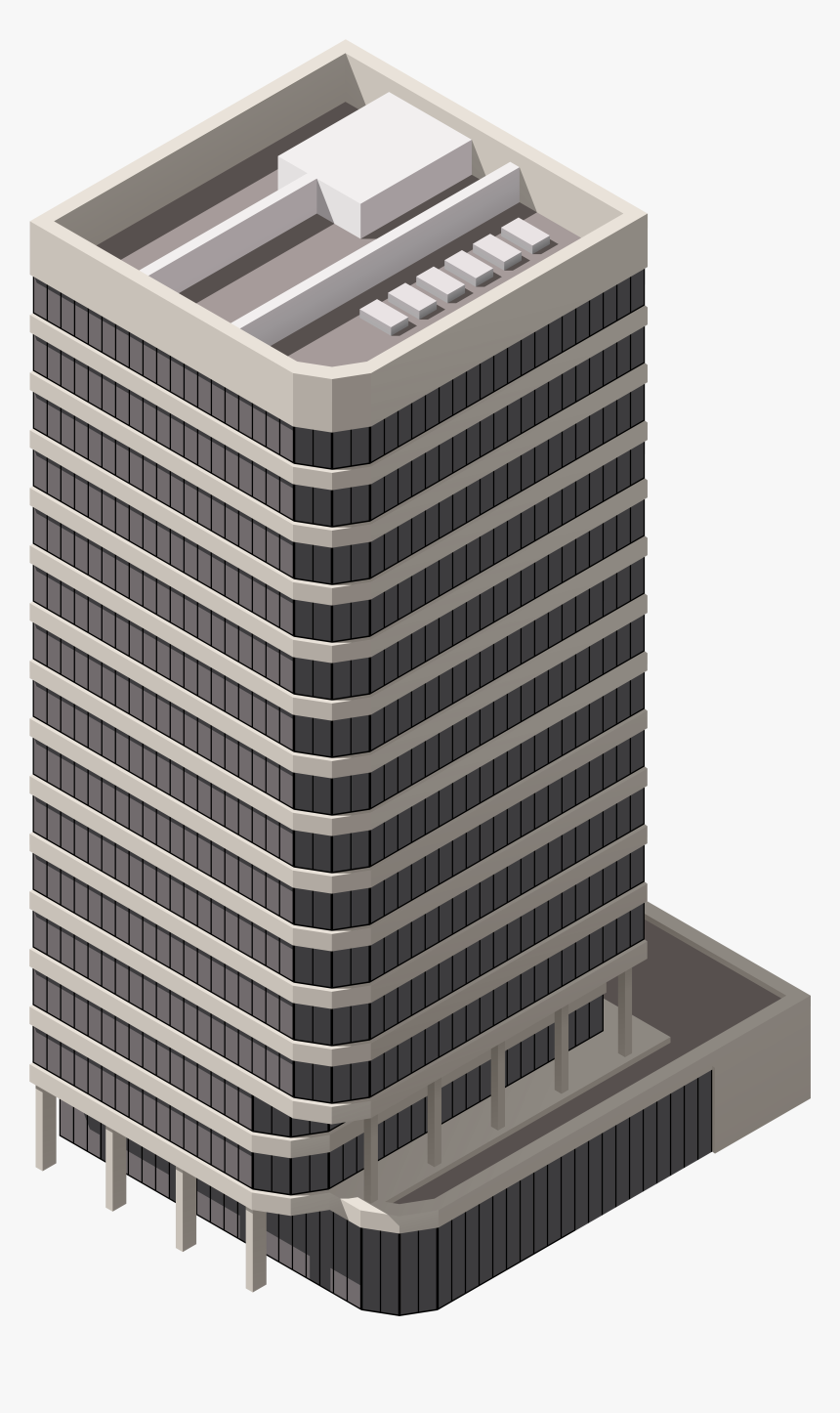 Big Residential Building Png Clipart - Building Clip Art Png, Transparent Png, Free Download