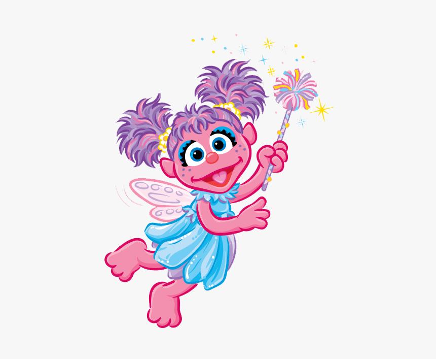 Clip Art Panda Free - Cartoon Sesame Street Abby, HD Png Download, Free Download
