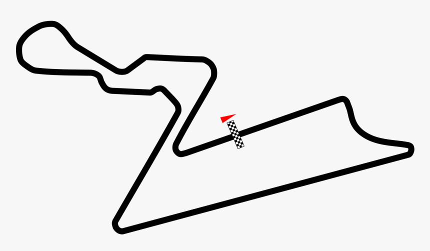 Transparent Race Track Clipart - F1 Grand Prix India Track, HD Png Download, Free Download
