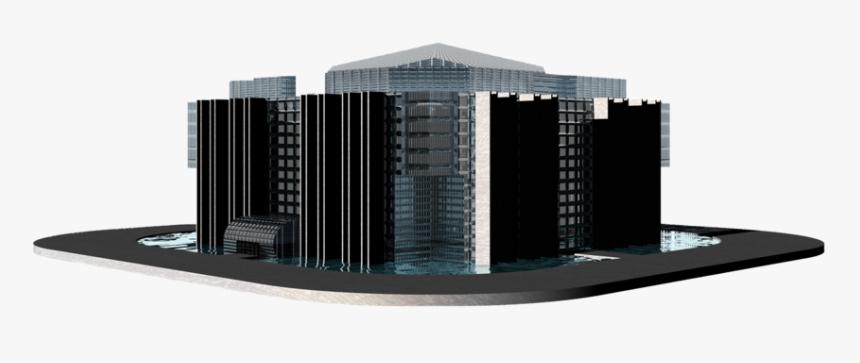 Building Png - 3d Building Transparent Background, Png Download, Free Download