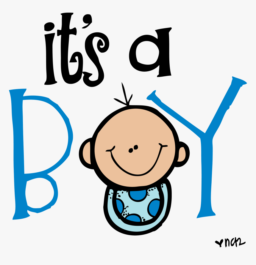 Congratulations Clipart Tiny - Its A Boy Clipart Black And White, HD Png Download, Free Download