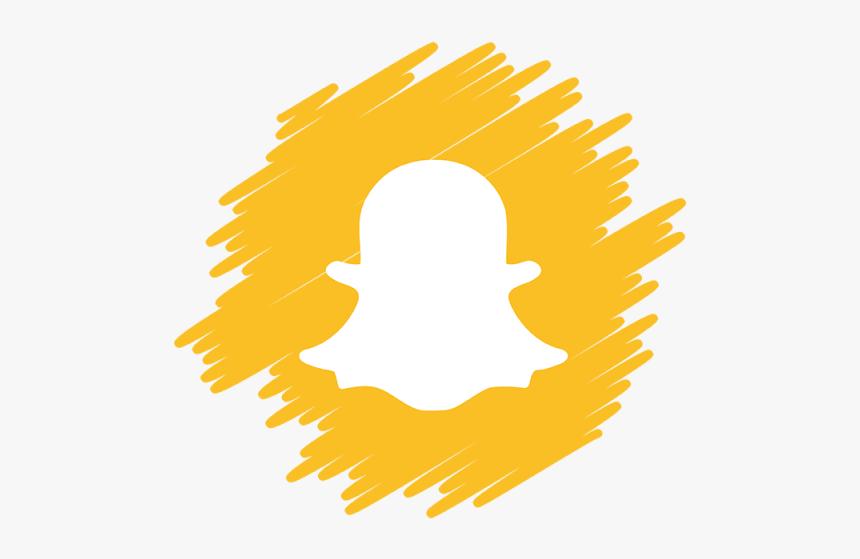 Snapchat Icon Png شعار سناب للتصميم Png Transparent Png Kindpng