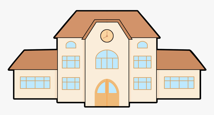 Building Png Photo - School Building Clipart Transparent, Png Download, Free Download