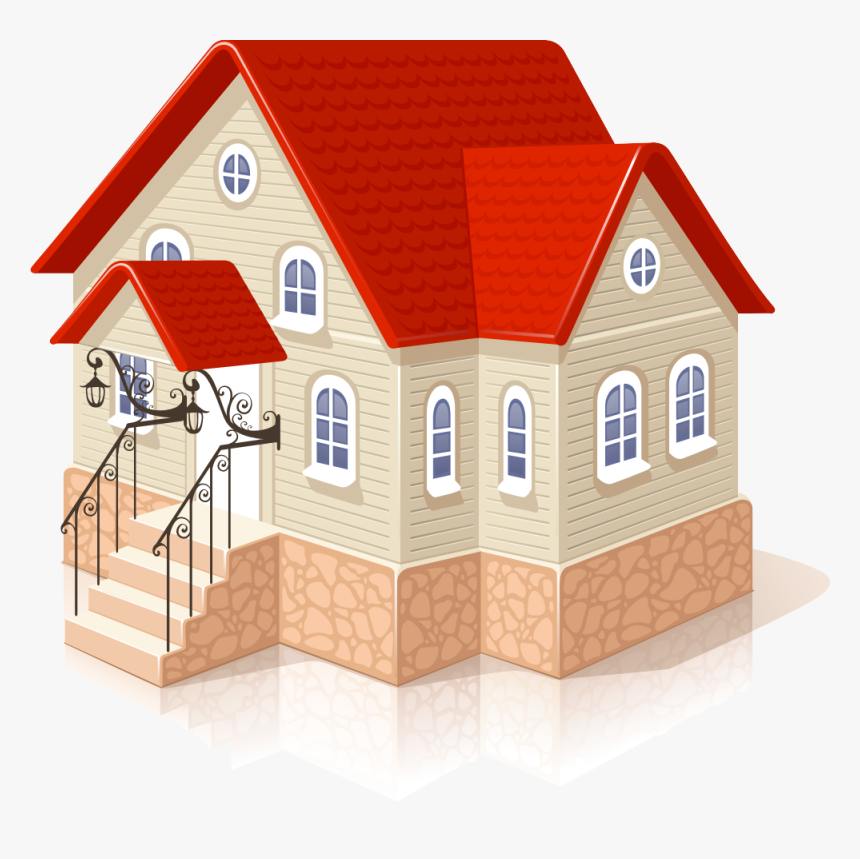 House Icon 3d Png, Transparent Png, Free Download