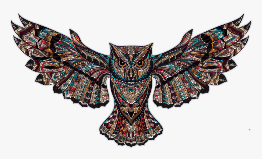 Owl Plastic Art Transparent Png - Owl Wallpaper For Mac, Png Download, Free Download
