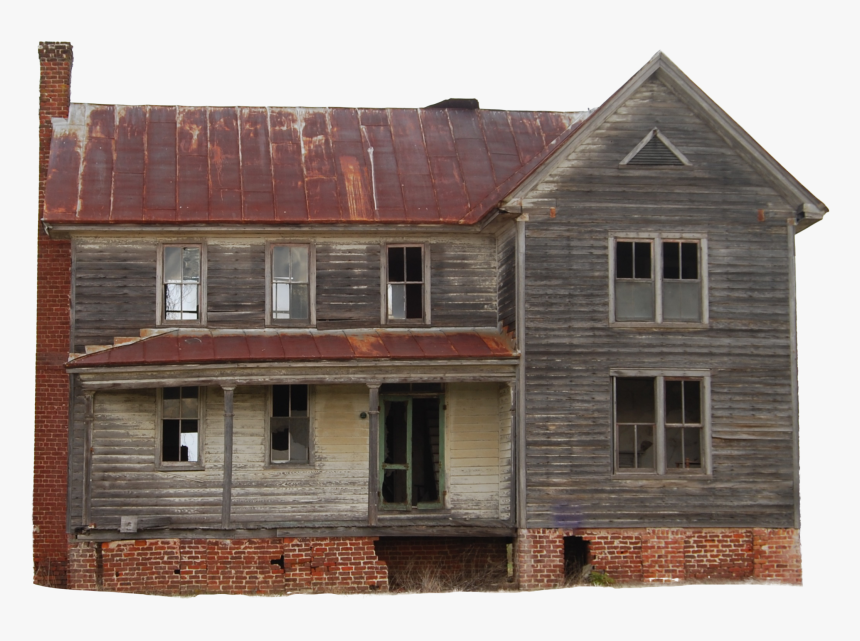 Wooden House Png Free Image - Minecraft Old House, Transparent Png, Free Download