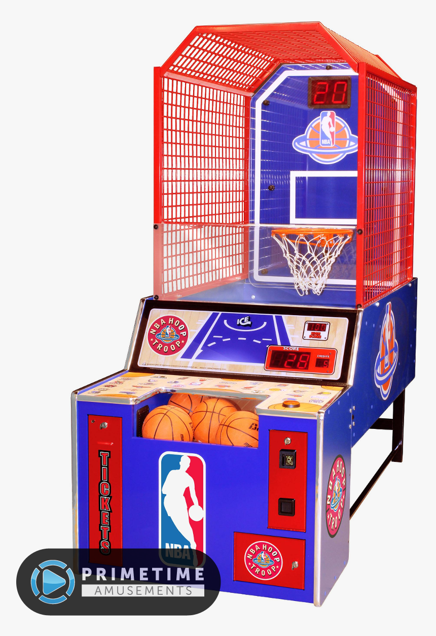 Transparent Nba Basketball Hoop Png - Game Redemption Basketball Extreme Hoops Instrucciones, Png Download, Free Download