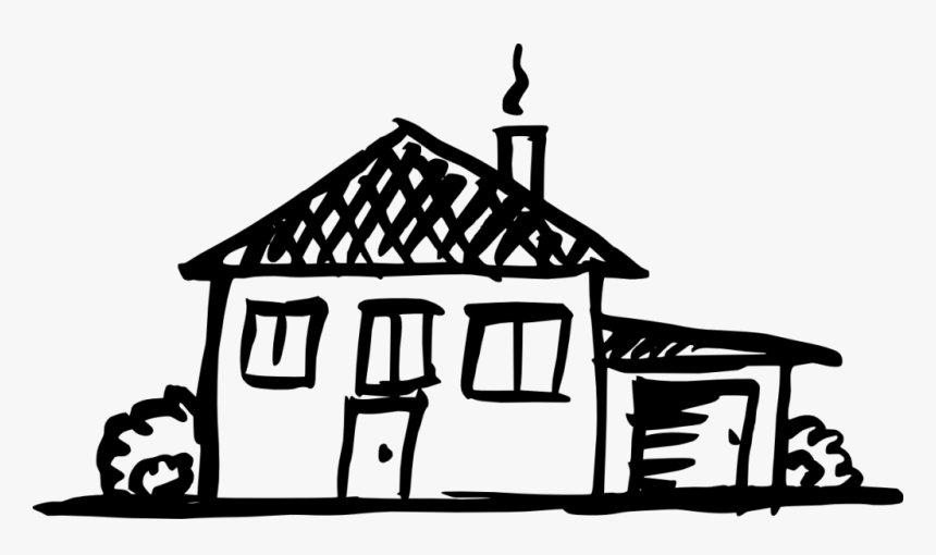 House Drawing Png, Transparent Png, Free Download