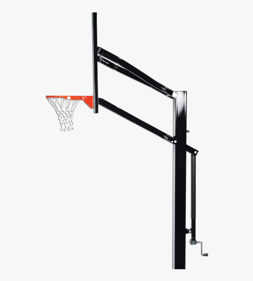 Basketball Hoop Side View, HD Png Download, Free Download